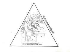 Kızılay kitapçığım kalıp-3 başak ünlüer özberk @okuloncesi.cilginlik Karma, Diagram