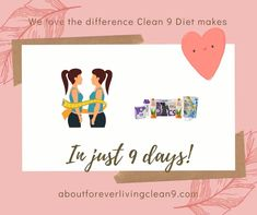 Who else loves the difference Clean 9 Diet makes in just 9 days? It's simply GREAT that that's all the time it takes for this healthy cleanse to help you lose weight and feel energized as well. Why not drop a dress/jeans size, using Forever's 9 day nutritional cleansing programme to kick start your weight loss? Click the embedded Facebook link for loads more C9 info.