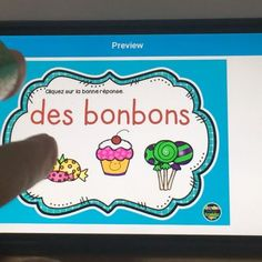 Learning to read French digital native style with Garden Full of Knowledge. Teaching Reading, Learning, Native Style, Teaching French, French Language, Learn To Read, Task Cards, Teaching Resources, Middle School