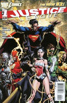 DC The New 52: Justice League (bought & started)
