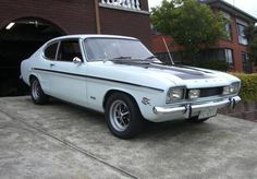 1970 Ford V6 Capri GT.  This was it... but red with a rear spoiler so it went faster.