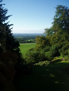 View over the Weald of Kent.