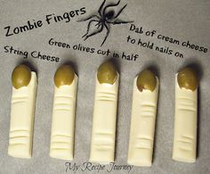 Zombie Fingers and other Halloween Food!