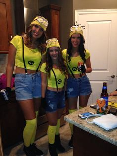 Minion Home Made Costume!