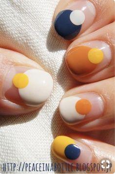 Multicolored nail art: grab the rainbow with a manicure! Nail art multicolor: ¡hazte con el arcoiris a golpe de manicura! Multicolored nail art: grab the rainbow with a manicure! Diy Nails, Cute Nails, Pretty Nails, Manicure Ideas, Nail Tips, Pedicure Manicure, Mani Pedi, Yellow Nail Art, White Nail