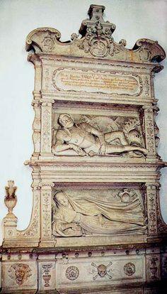 Santi Gucci - Nagrobek Firlejów w Janowcu 1587-88