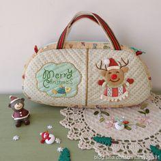 【艾米果原创】圣诞小鹿手提包