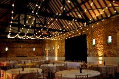 Rustic Wedding Festoon Lights