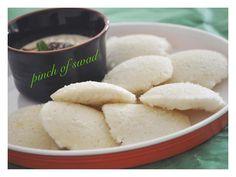 Pinch Of Swad: Instant Poha Idli (Beaten Rice Idlis)