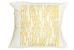 love these pillows with quotes on them