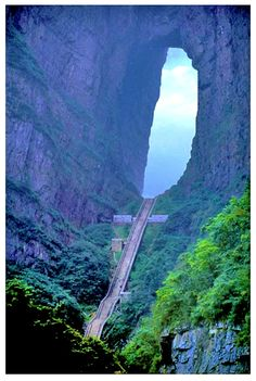 Difficult journeys have their own rewards. Heaven's Gate, China