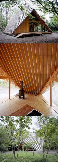 Y-Hütte   Kengo Kuma