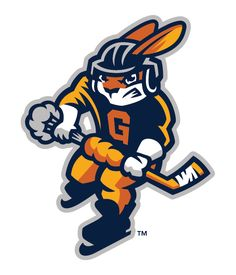 Reviewed: New Name and Logos for Greenville Swamp Rabbits by Brandiose
