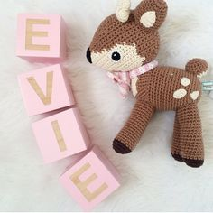 """Add a personalised touch with our dreamy Name Blocks. These blocks are ideal for any space in your home and make amazing gifts for baby showers and birthdays! They also look great as features for parties and photo shoots! Each block is 7cm x 7cm and hand painted, leaving the letter natural. Each block is painted with water based paint, although we recommend using as display only. Please select your colour below and leave in the """"notes to seller"""" as well as your desired nam..."""