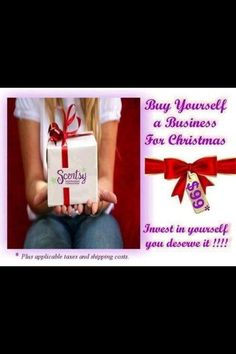Invest in yourself!  Buy yourself a business for 2013! https://lizettezazueta.scentsy.us/Scentsy/Join
