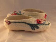 Zapatillas de lana Gotland y detalles con Leiscester y bambú