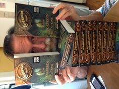 Woohoo! ARCs for THE COPERNICUS LEGACY: The Forbidden Stone are in the house!