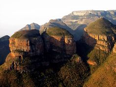The Three Rondavels across the Blyde Canyon at the end of the Panorama Route in South Africa. Need to visit this place, Nelspruit, Sabie, everywhere again. African Words, Inner World, Trees To Plant, Toilet Paper, South Africa, Bliss, Places To Visit, Wanderlust, Tours