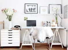 Чтобы дела шли в гору: 40 вещей для домашнего кабинета | Свежие идеи дизайна…