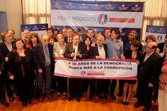 Evento Nunca más de la Corrupción