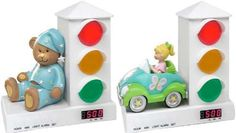 Traffic Light Timers - The Stoplight Alarm Clock Signals When to Wake Up for Toddlers Summit Learning, Innovation Books, Future Festival, Stop Light, Traffic Light, Design Reference, Alarm Clock, Toddlers, Concept