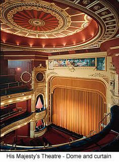 Her Majesty's Theatre in London, has been home to @officialphantom for 29 years and counting!