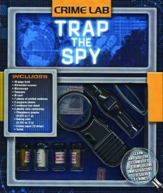 Crime Lab: Trap the Spy (9781592237159) Used Book in Good Condition