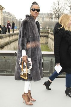 #Christian Dior Autumn/Winter 2013 Collection   #PFW #Front Row