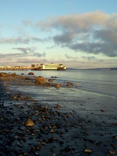 Whidbey Island Ferry, in Port Townsend, WA