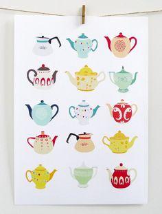 and tea pots ~