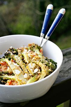 Roasted Broccoli Quinoa Salad