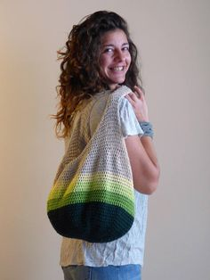 Crochet tote bag Crochet market bag Stylish Tote Market Source by cnilay boho Crochet Hobo Bag, Crochet Shoulder Bags, Crochet Market Bag, Knit Crochet, Boho Bags, Crochet Projects, Crochet Patterns, Farmers Market, Tote Bag