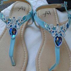 Flip Flop Sandals, Flip Flops, Soutache Earrings, Shibori, Diy Fashion, Girly Things, 21st, Footwear, Bling