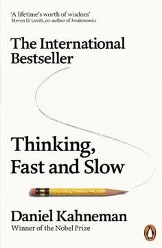 Thinking, Fast and Slow by Daniel Kahneman, http://www.amazon.co.uk/gp/product/0141033576/ref=cm_sw_r_pi_alp_SW3krb145CW67