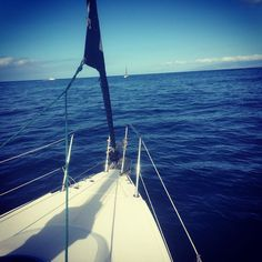 #tenerife #naviguation #skipper #wind #sailboat #free #oceanscape #escape #fish #dolphins #whales #ocean #islascanarias #travel #regatta #captain #matelots #nature #bluesky #trip #lovelife #landscape #nautical #speed #sailing #sunshine by benjbilly