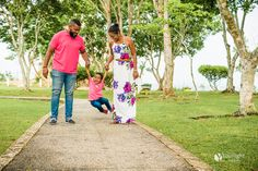 Beautiful family at San Fernando Hill.