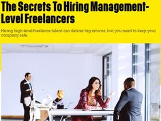Nicole Cox to Fast Company: Best Practices For Hiring Management-Level Freelancers