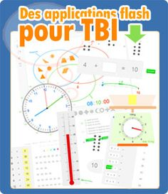 Applications flash pour TBI, maths et français School Organisation, Teacher Websites, Math Websites, Technology Updates, Technology Design, Technology Logo, Cycle 3, School Classroom, Google Classroom