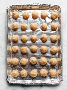 These Baked Chicken Meatballs are the BEST! The perfect addition to any meal or to eat right on their own. Bonus: they're meal-prep friendly to stock up throughout the week! Baked Chicken Meatballs, Chicken Meatball Recipes, Ground Chicken Recipes, Healthy Chicken Recipes, Baby Food Recipes, Cooking Recipes, Healthy Meals, Classic Meatloaf Recipe, Soft Chocolate Chip Cookies