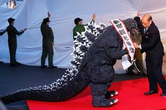 Wow apparently Godzilla is now an official citizen of Japan!!