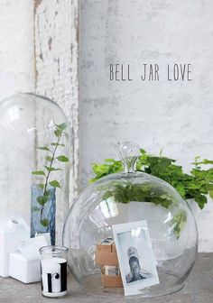 #interior, #decor, #jar, #glass - this is cute!