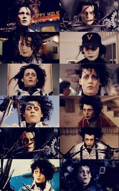 Edward Scissorhands. my most favorite movie of all time