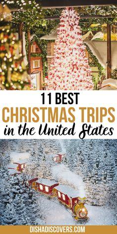 Christmas Trips, Christmas Getaways, Christmas Destinations, Christmas Travel, Christmas Vacation, Holiday Travel, Vacation Destinations, Holiday Fun, Xmas