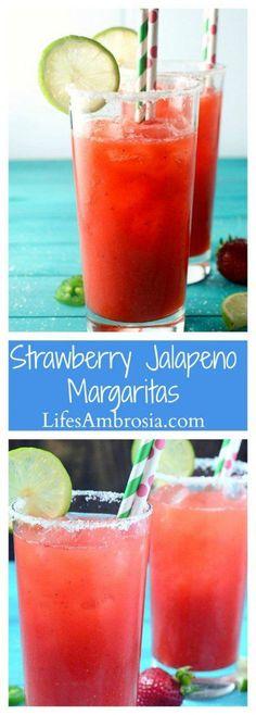 spicy strawberry jalapeno lemonade spicy strawberry jalapeno lemonade ...