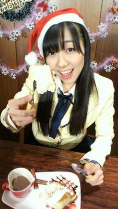 須田亜香里もクリスマスだから角を生やしました(・⌒+)☆ミの画像 | SKE48オフィシャルブログ