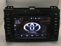 Android 6.0 Car DVD Player for Toyota Land Cruiser Prado 120 2002-2009 GPS Navi Radio BT wifi 16GB/DDR3 1G camera Free shipping