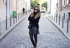 Blogger Funda wearing mbyM knit <3 #byfunda