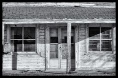 """Storefront, Bonita Flats, Kansas"" Limited Edition photograph.  Print size is 15x10. Framed size is 21x16. Only 100 will be made. White mount and mat with black frame with signed and numbered certificate. #150112-002 $ 335"