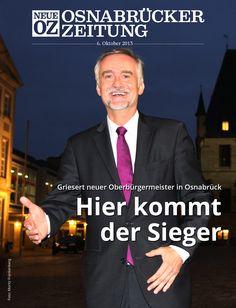 Wolfgang Griesert ist nach gewonnener Stichwahl neuer Oberbürgermeister in  Osnabrück. Lesen Sie jetzt mehr zum Titelthema in Ihrer Abendausgabe.
