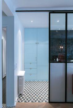 Cuisine  Appartement parisien de 130m2- GCG Architectes